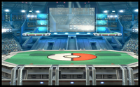 Crimson Clash Arena Icon Pokemon Stadium