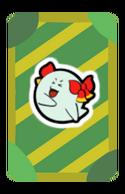 Lady Bow Partner Card