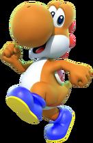 MKDX Orange Yoshi