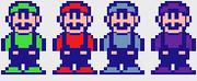 SMB NES Luigi