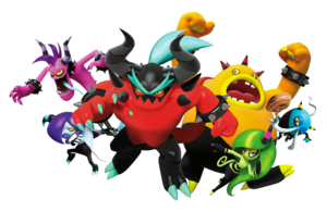 The Deadly Six - Sonic Lost World