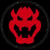 Bowser Emblem MK8