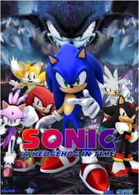 SONIC4 TIME poster