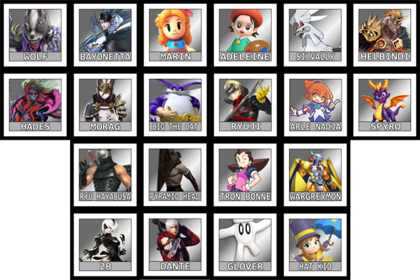 Krex's Roster Evolution   Fantendo - Nintendo Fanon Wiki