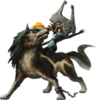 Twilight Princess HD Artwork Wolf Link & Midna (Offical Artwork)