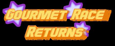 Gourmet Race Returns Logo