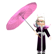 Kimono Pearl with Umbrella
