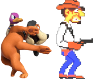0.21.Duck Hunt Duo summoning a Wild Gunman 3