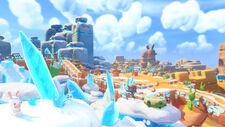 Mario Rabbids Kingdom Battle - Sherbet Desert