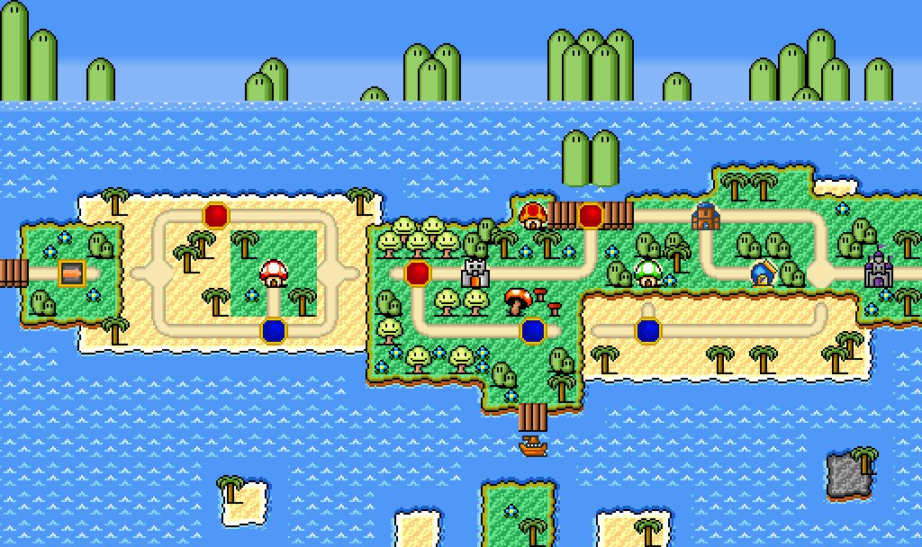 World 3 Seaside Beach Nsfmbtar Fantendo Nintendo Fanon Wiki