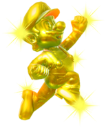 8.Golden Mario jumping