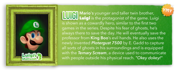 LM3 Character Info - Luigi