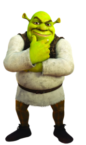 Shrek transparent