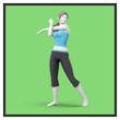 JSSB character preview icon - Wii Fit Trainer