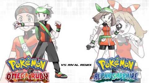 Pokémon OR AS RSE Hoenn Rival Battle Theme Remix