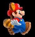 Raccoon Mario Glide