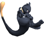 0.4.Shadow Mewtwo floating