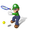 612px-Luigi Artwork - Mario Power Tennis