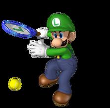 612px-Luigi Artwork - Mario Power Tennis