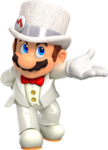 SMO Art - Wedding Mario