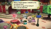 Toadsworth's worry of Junior