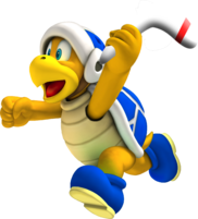 Boomerang Bro - New Super Koopa Bros