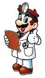 Brawl Sticker Dr. Mario (Nintendo Puzzle Collection)