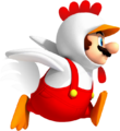 Chicken Mario NSMBVR