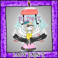 ColdBlood Icon Lady Pain-T