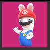 JSSB character preview icon - Rabbid Mario