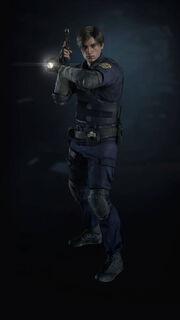 Resident evil 2 remake leon s kennedy by xgamergreaserx dcu4vex-pre