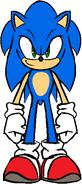 Sonic Models Sheets