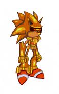 Super Mecha Sonic by Swift777