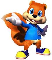 Conker in the game.