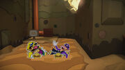 Dragged to heck with Wario and Waluigi