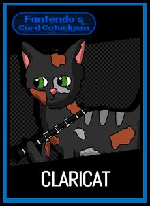 FCC Claricat Card