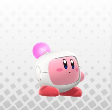 Kirbyhat bomberman
