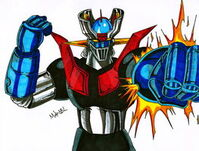 Mazinger z by mikees-d5xstw7