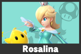 Rosalina mugshoot