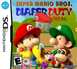 SMB Diaper Duty DS Boxart