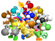 The Elemental Yoshis