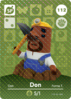 Ac amiibo card s2 don resetti