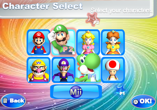 Character Select PITP