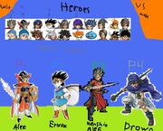 Dragon Quest Fighting Warrios Character Select -11