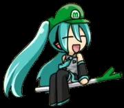 Luigi Hatsune Miku 3