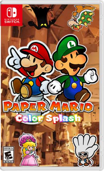 Paper Mario Color Splash Nintendo Switch Sherman Target