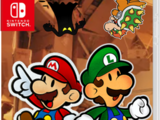 Paper Mario: Color Splash (Nintendo Switch) (Sherman Target)