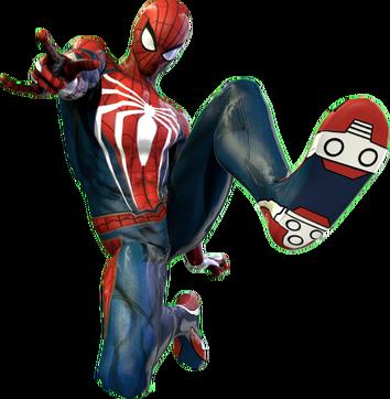 Spiderman ps4 render 2 4k by strikedahedgehog-dc2odrt