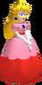 Super Smash Bros. Melee Peach trophy render