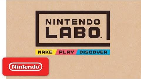 First Look at Nintendo Labo-0